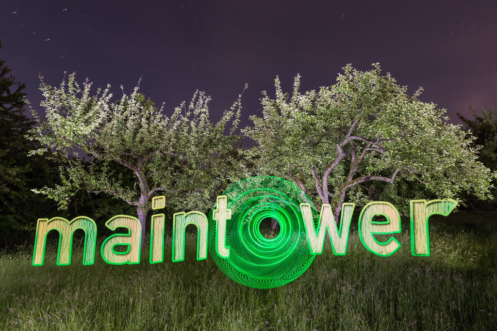 maintower goes lightpainting